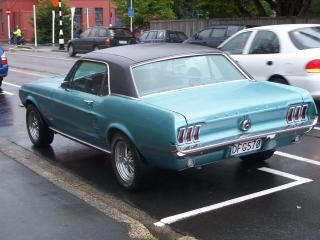 Mustang, factory