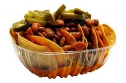 nachos, corn