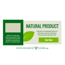 Natural Product Template Banner