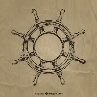 Nautic steering wheel
