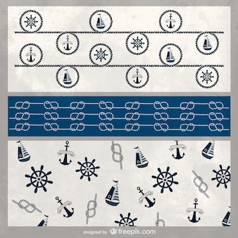 Nautical background template