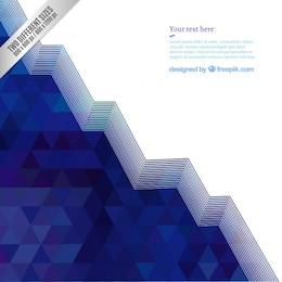 Navy blue geometric background