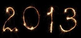 New year lights vector