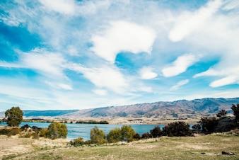 ニュージーランド。ダンスタン湖