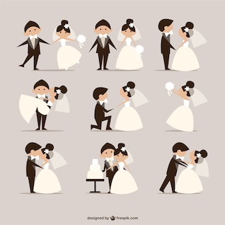 newly married doodles