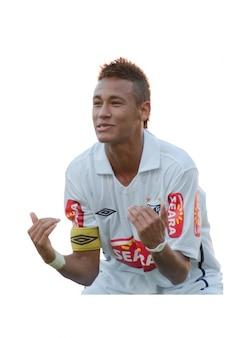 Neymar , Santos
