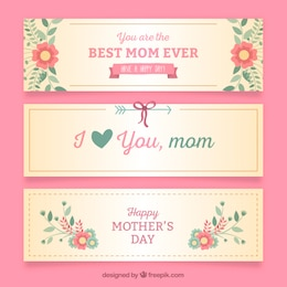 Nice mothers day banners