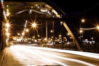 night scene  town