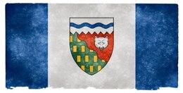 northwest territories grunge flag