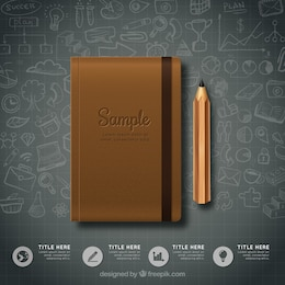 Notebook infographic