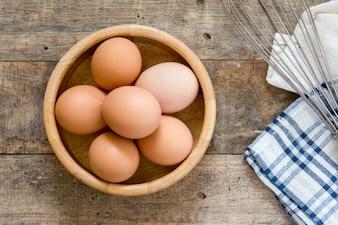 Nutritious protein yolk life organic