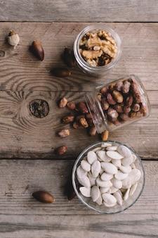 Орехи в трех очках