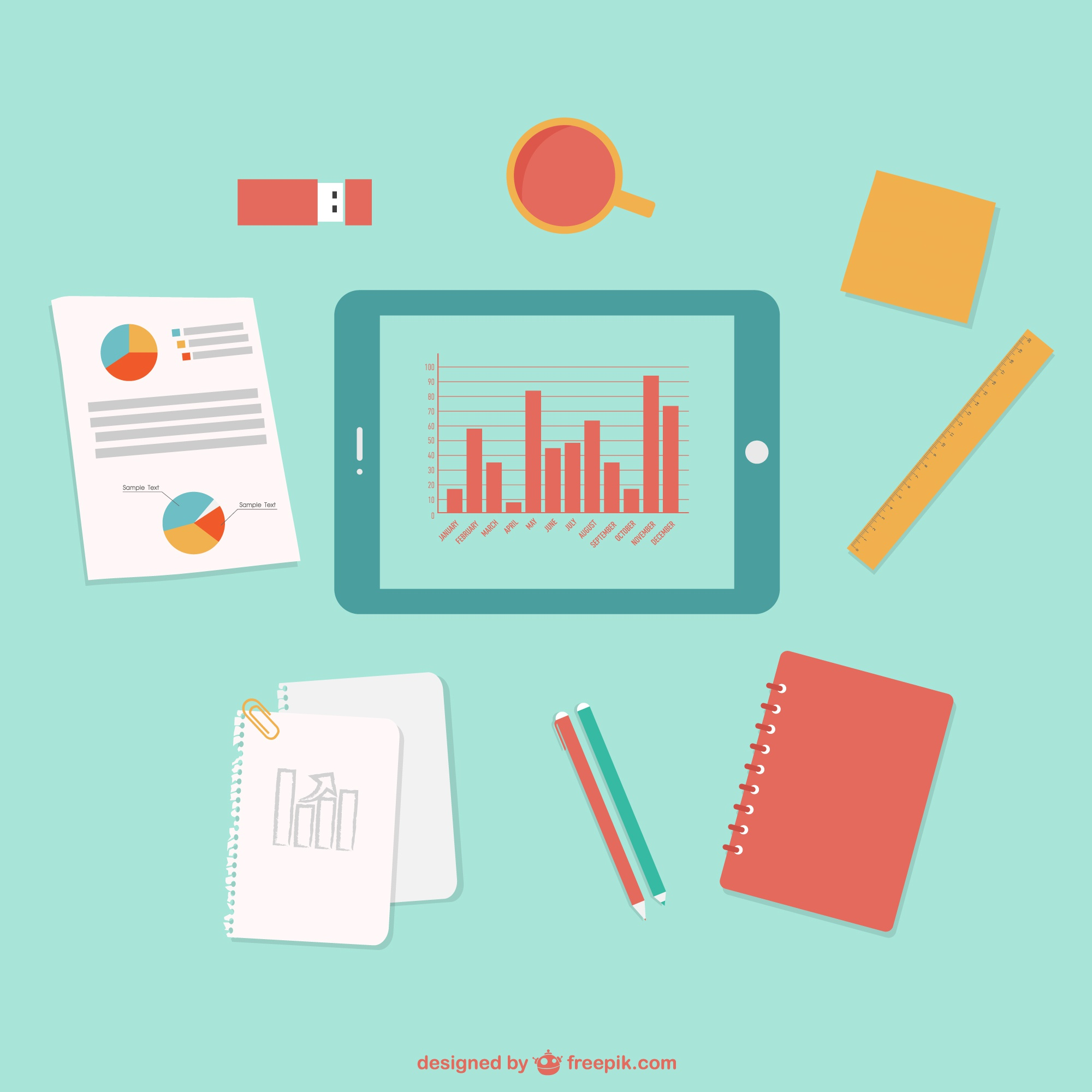 Office business free vector