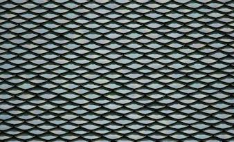 Old black tiles roof background