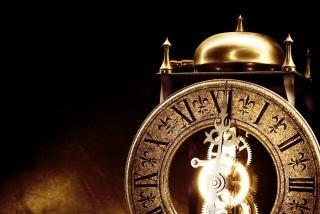 Old clock , roman