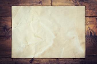 古い、紙、木、背景、宇宙