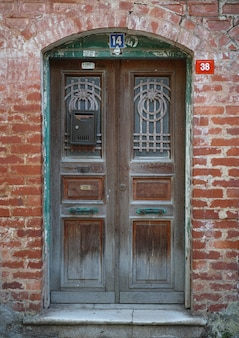 Old turkish door
