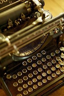 Old Typewriter Machine
