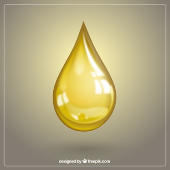 Olive oil drop