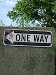 One way (with paintballs)