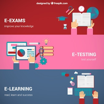 Online education concepts