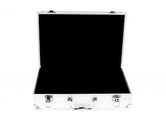 Open metal case