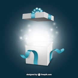 Opening present box