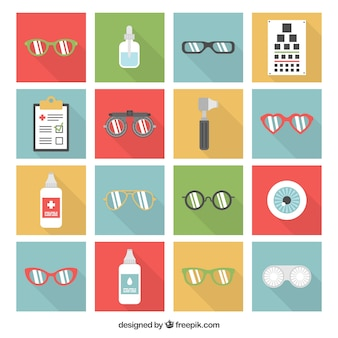Ophthalmologist icons
