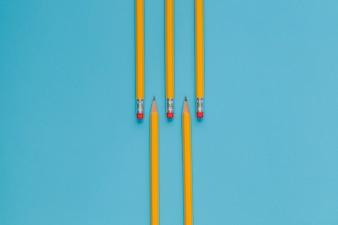 ブルーの鉛筆