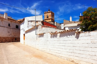Ordinary street of El Toboso