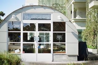 Organic burgers restaurant