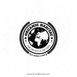 Organic habitat badge