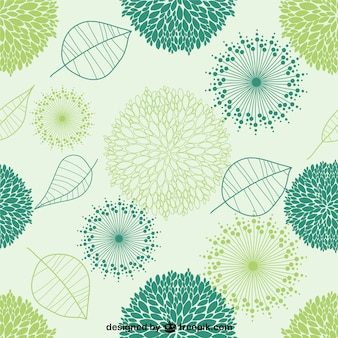 Organic vector seamless pattern