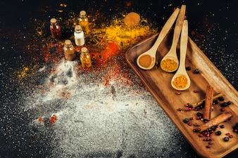 Oriental spices composition
