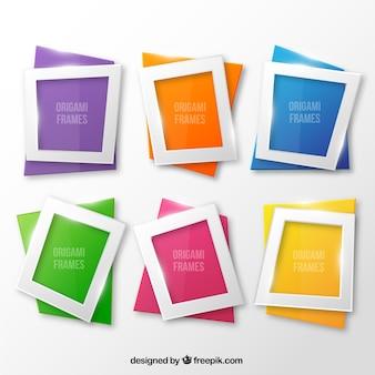 Origami frames