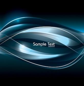 original Deep blue background vector