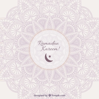Ornamental background for Ramadan Kareem