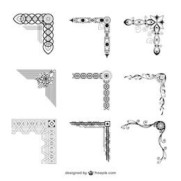 Ornamental corners collection