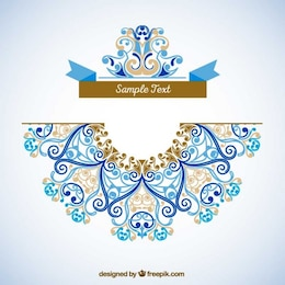 Ornamental decoration template