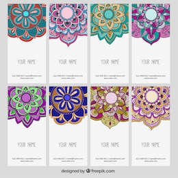 Ornamental flowers banners
