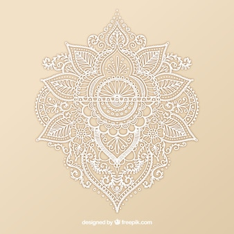 Ornamental henna design