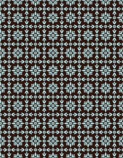 Ornamental Seamless Vector Pattern Background