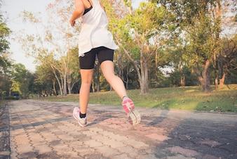 Outside endurance leisure workout trail
