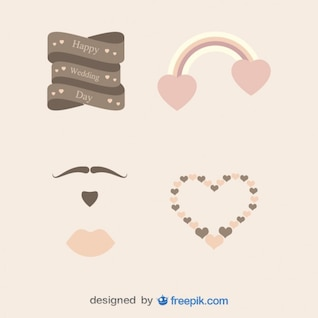 Pack Graphs of Vintage Hearts
