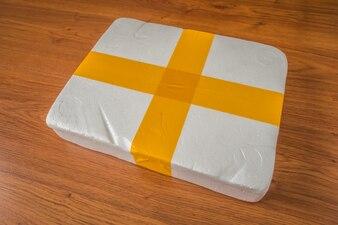 Packaging foam box .