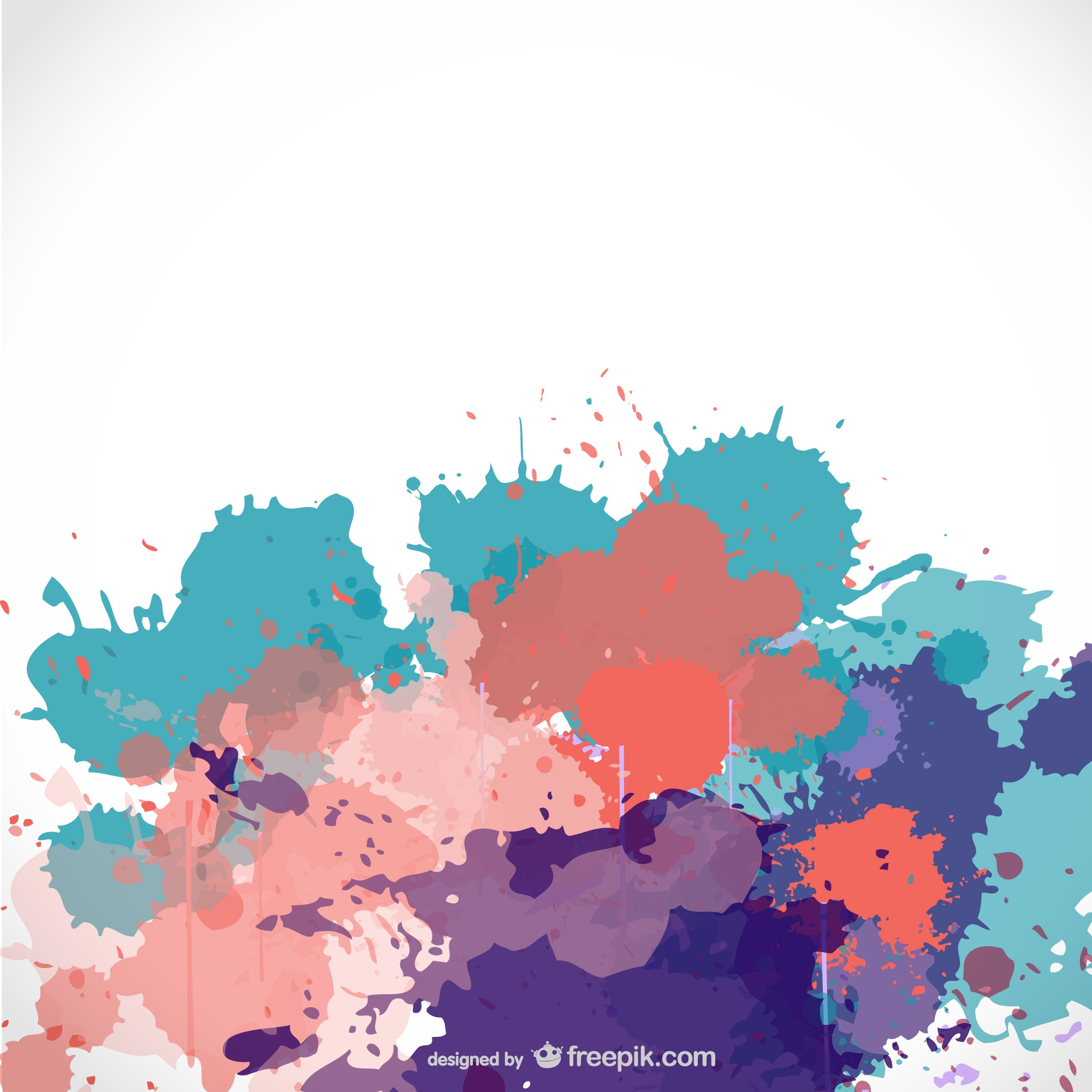 Paint splash free background