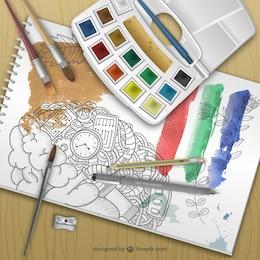 Painter equipment