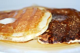 pancakes  butter