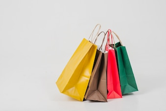Paper-made shopping bags