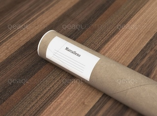 Paper tube free download mock up